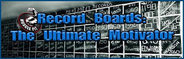 Record Boards - The Ultimate Motivator
